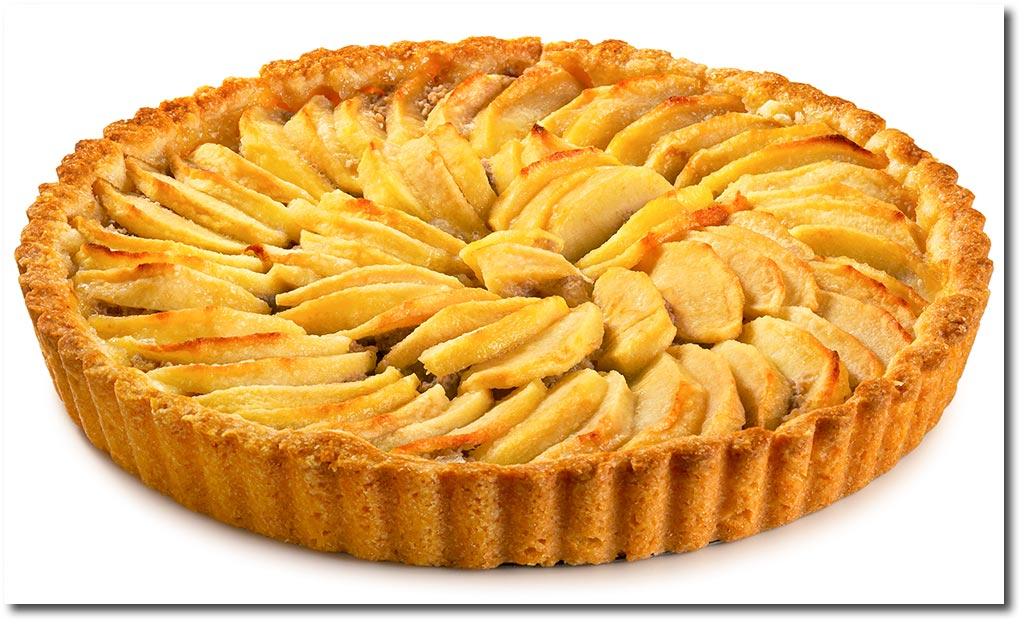 Französischer Apfel Kuchen Rezept