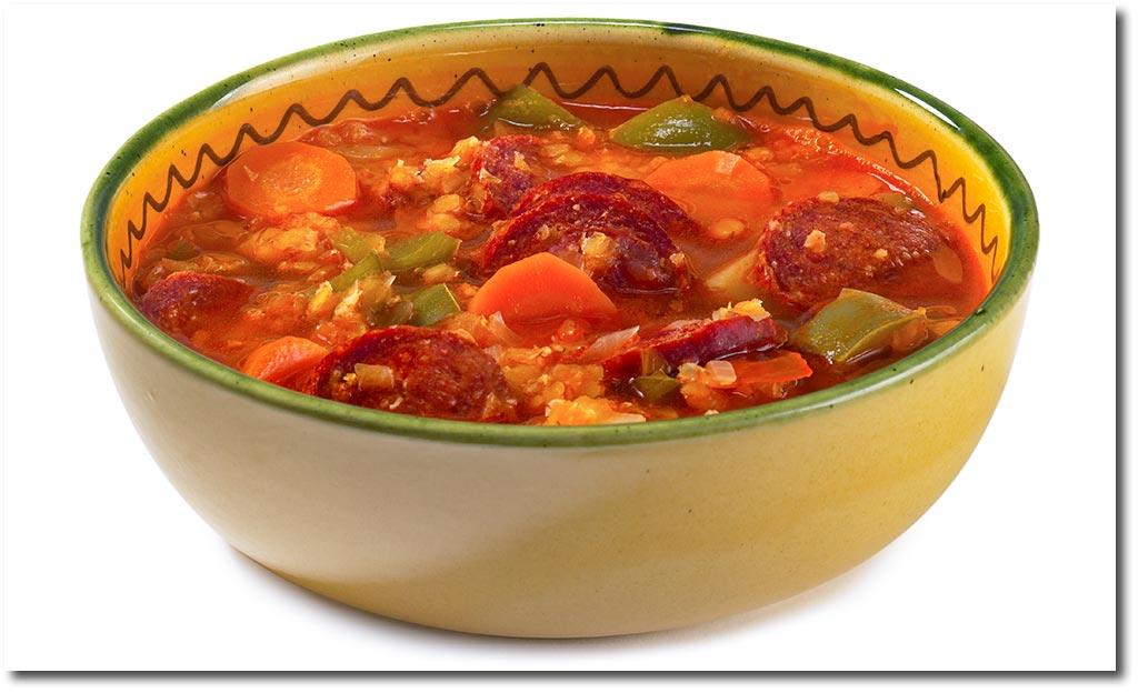 Spanische Linsen Suppe Rezept
