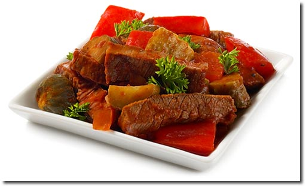 zigeuner fleisch salat mit steak rezept. Black Bedroom Furniture Sets. Home Design Ideas