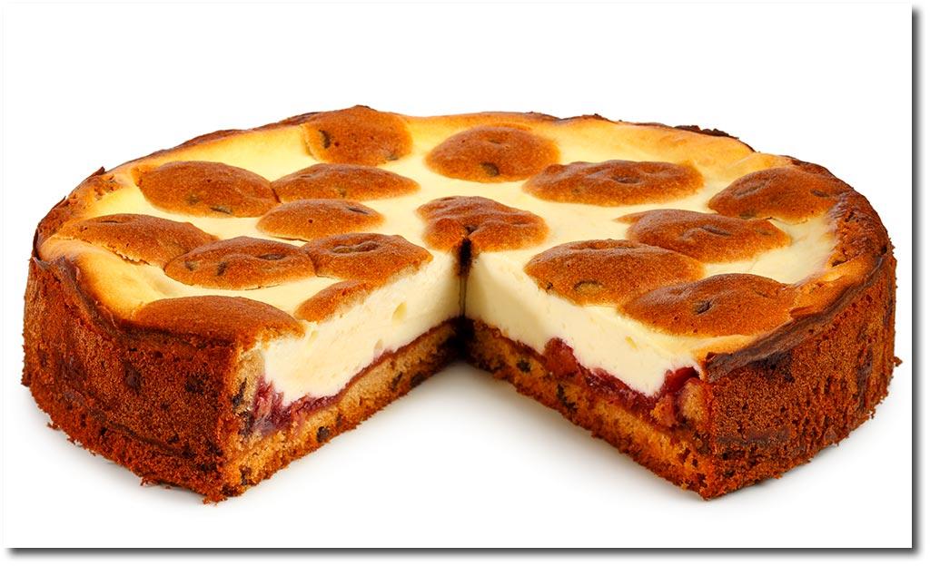 Schoko Kase Kuchen Mit Rote Grutze Rezept