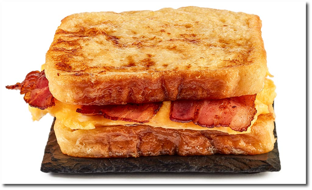 egg bacon french toast rezept. Black Bedroom Furniture Sets. Home Design Ideas