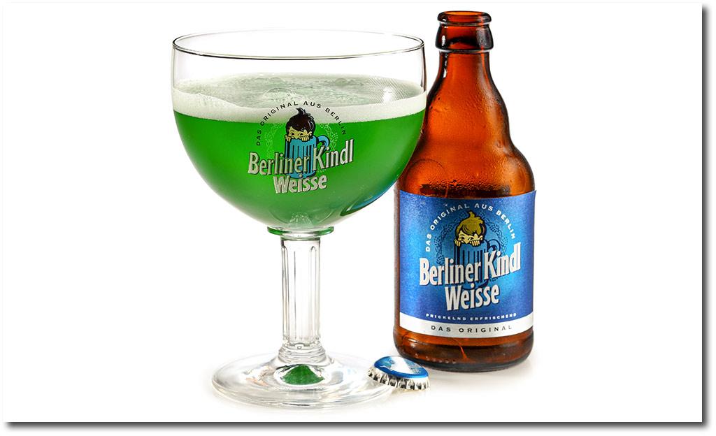 Bier Mix Getränke: Berliner Weisse