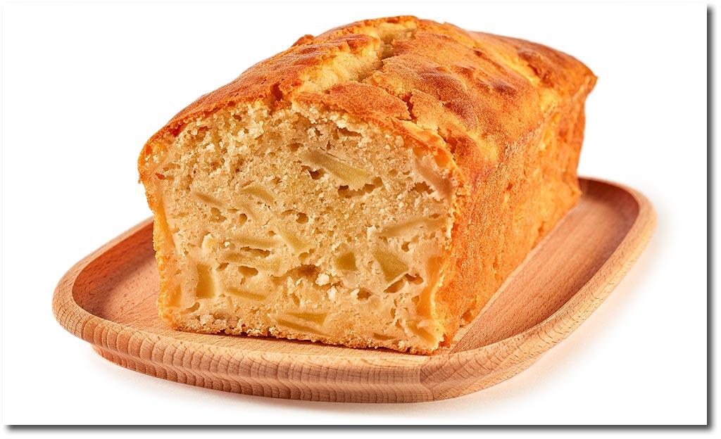 Apfel Kuchen Kasten Form Rezept