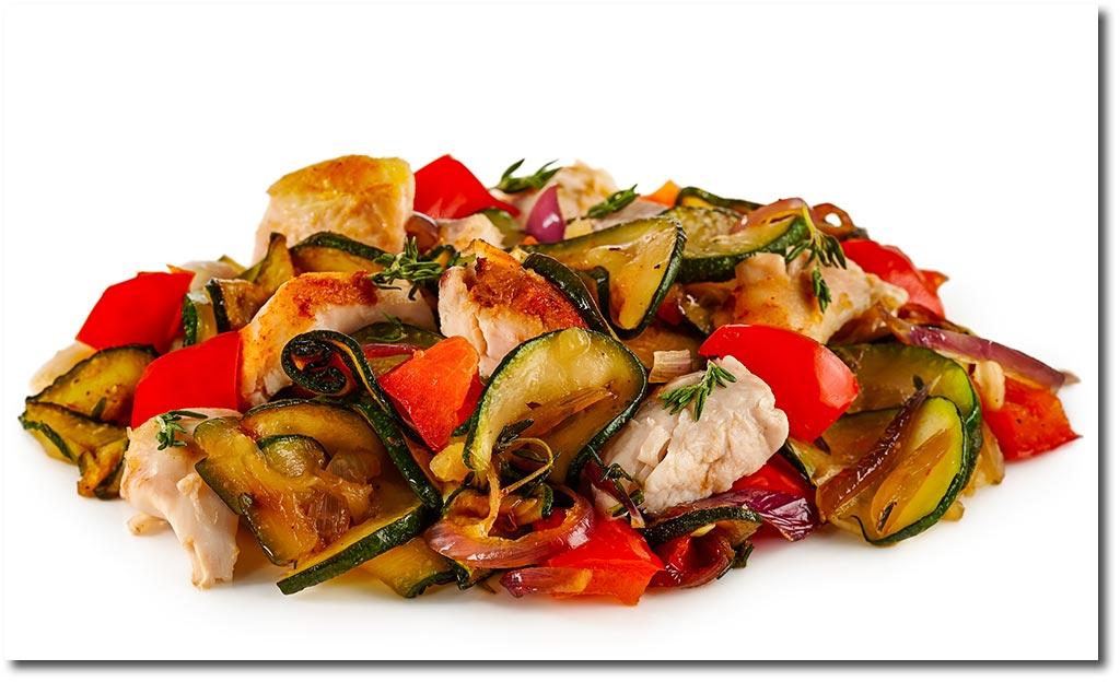 Rezepte mit zucchini hahnchen