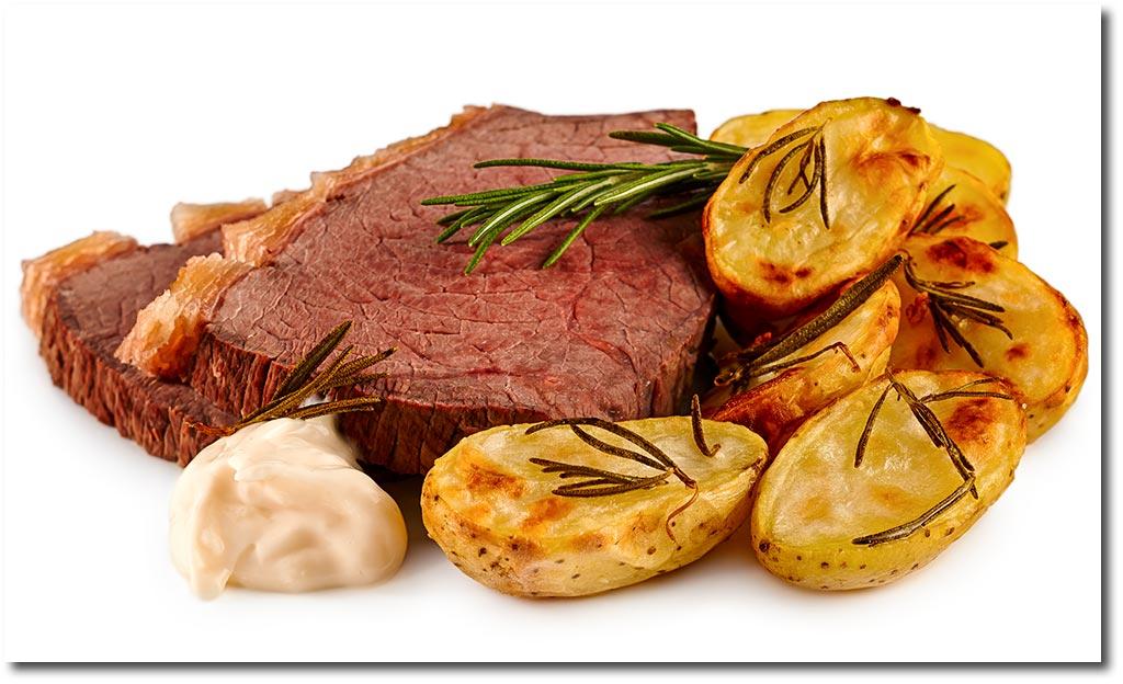 Tafelspitz Mit Rosmarin Kartoffeln Rezept