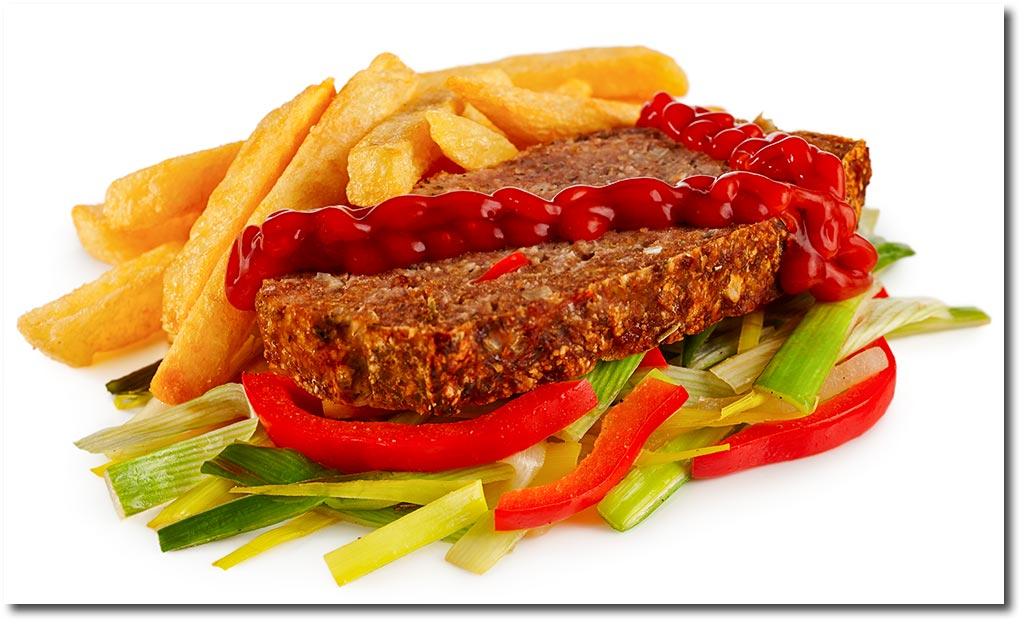 hackbraten mit ketchup — rezepte suchen