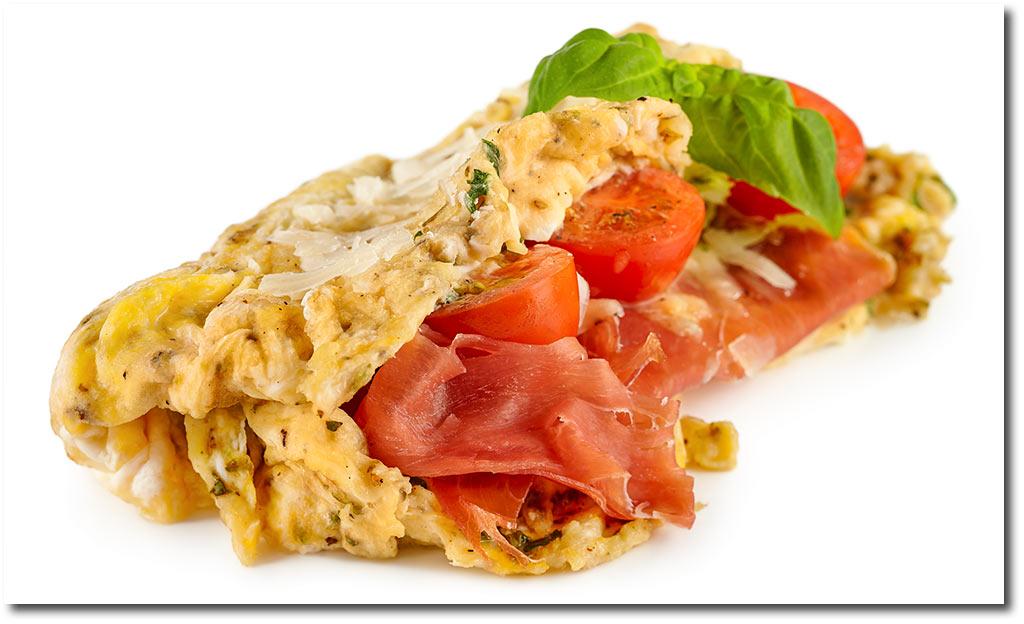 Italienisches omelette mit parma rezept for Italienisches kochbuch