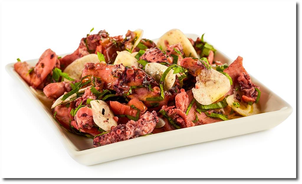 knoblauch oktopus salat rezept. Black Bedroom Furniture Sets. Home Design Ideas