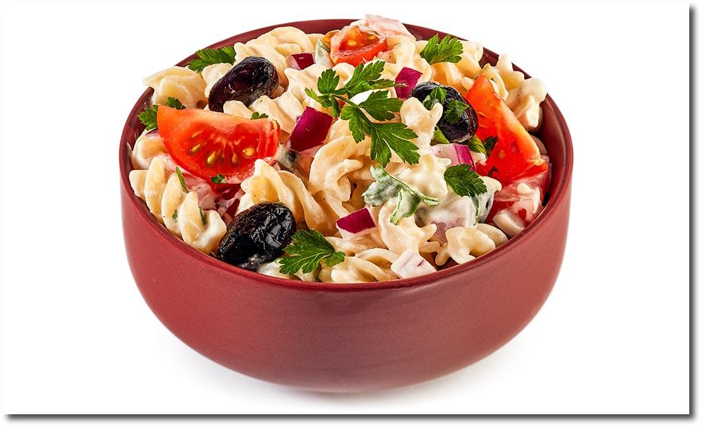 vegetarischer tzatziki nudel salat rezept. Black Bedroom Furniture Sets. Home Design Ideas