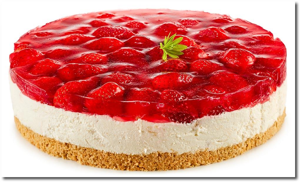 Quark Erdbeer Rhabarber Torte Rezept