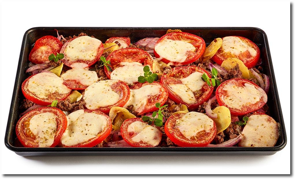 Rezept Kartoffel Hackfleisch kartoffel tomaten hackfleisch auflauf rezept