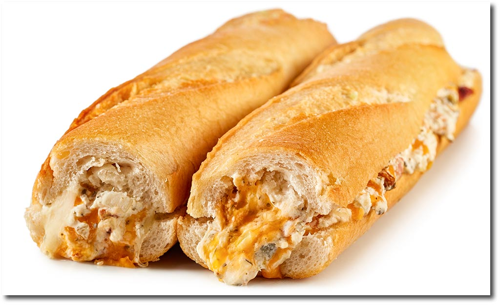 Cheesy Party Baguette