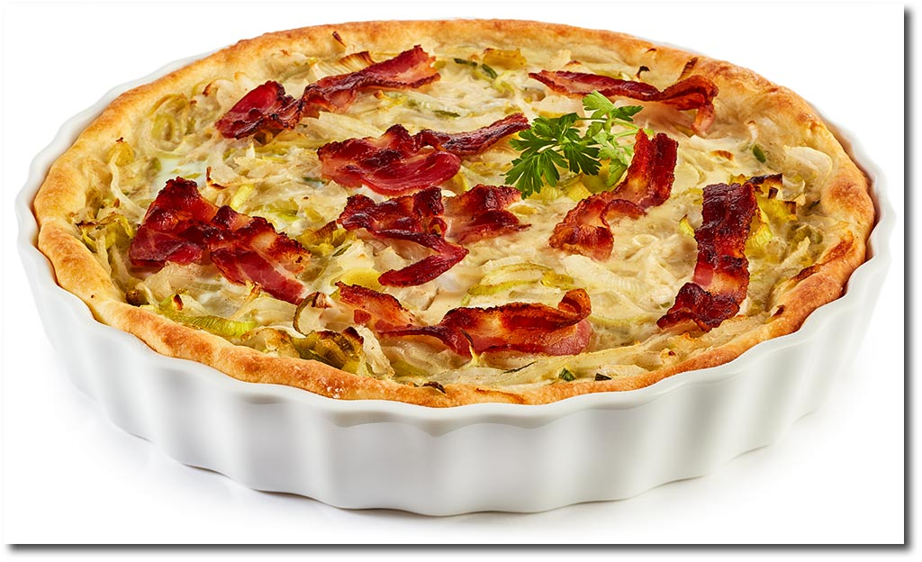 zwiebel kuchen quiche mit quark l teig rezept. Black Bedroom Furniture Sets. Home Design Ideas